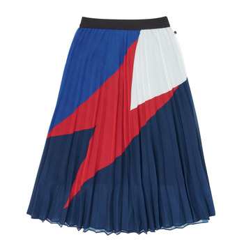 tekstylia Dziewczynka Spódnice Ikks XR27052 Niebieski
