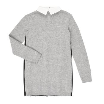 tekstylia Dziewczynka Sukienki krótkie Ikks XR30082 Szary