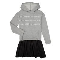 tekstylia Dziewczynka Sukienki krótkie Ikks XR30112 Szary