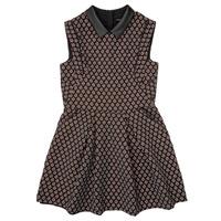 tekstylia Dziewczynka Sukienki krótkie Ikks XR30212 Czarny