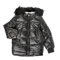 tekstylia Dziewczynka Kurtki ocieplane Ikks XR41122 Czarny