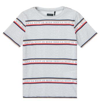 tekstylia Chłopiec T-shirty z krótkim rękawem Ikks XR10003 Szary
