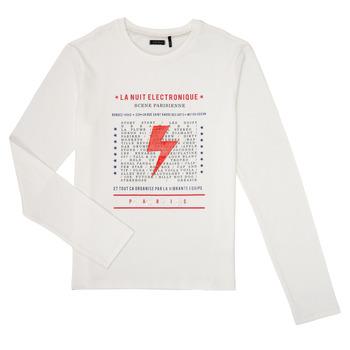 tekstylia Chłopiec T-shirty z długim rękawem Ikks XR10023 Biały