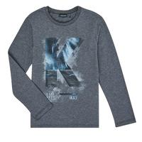 tekstylia Chłopiec T-shirty z długim rękawem Ikks XR10203 Szary
