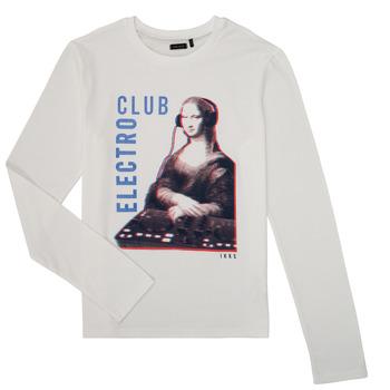 tekstylia Chłopiec T-shirty z długim rękawem Ikks XR10333 Biały