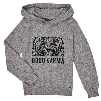 tekstylia Chłopiec Swetry Ikks XR18113 Szary