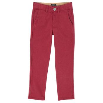 tekstylia Chłopiec Spodnie z pięcioma kieszeniami Ikks XR22093 Czerwony