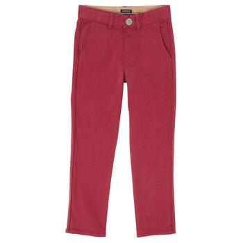 tekstylia Chłopiec Spodnie z pięcioma kieszeniami Ikks XR22093J Czerwony
