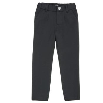 tekstylia Chłopiec Spodnie z pięcioma kieszeniami Ikks XR23023 Czarny