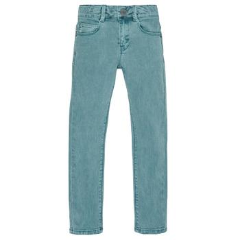 tekstylia Chłopiec Jeansy slim fit Ikks XR29013 Zielony