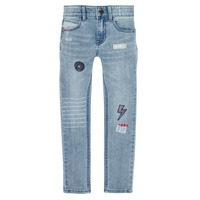 tekstylia Chłopiec Jeansy slim fit Ikks XR29053 Niebieski