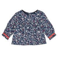 tekstylia Dziewczynka Koszule Ikks XR12010 Niebieski