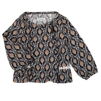 tekstylia Dziewczynka Koszule Ikks XR12020 Czarny