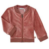 tekstylia Dziewczynka Swetry rozpinane / Kardigany Ikks XR17030 Różowy
