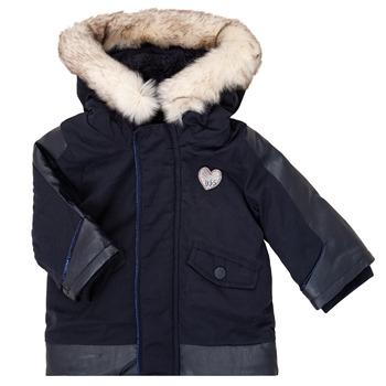tekstylia Dziewczynka Kurtki ocieplane Ikks XR42000 Niebieski