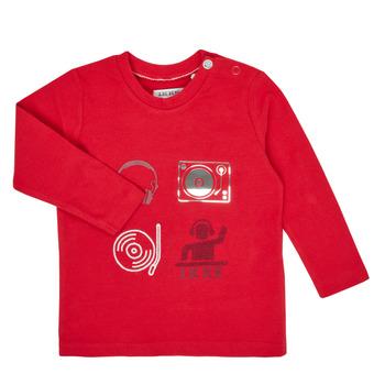 tekstylia Chłopiec T-shirty z długim rękawem Ikks XR10011 Czerwony