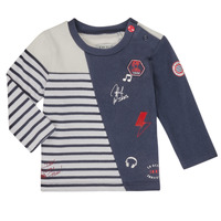 tekstylia Chłopiec T-shirty z długim rękawem Ikks XR10041 Biały