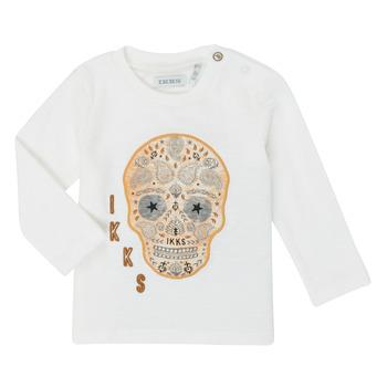 tekstylia Chłopiec T-shirty z długim rękawem Ikks XR10141 Biały