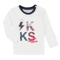 tekstylia Chłopiec Komplet Ikks XR36001 Biały