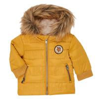 tekstylia Chłopiec Kurtki pikowane Ikks XR41021 Żółty