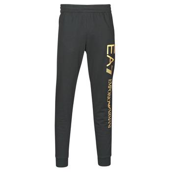 tekstylia Męskie Spodnie dresowe Emporio Armani EA7 TRAIN LOGO SERIES M PANTS Czarny