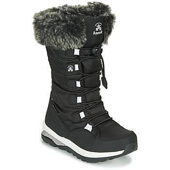 Buty Dziewczynka Śniegowce KAMIK PRAIRIE Czarny