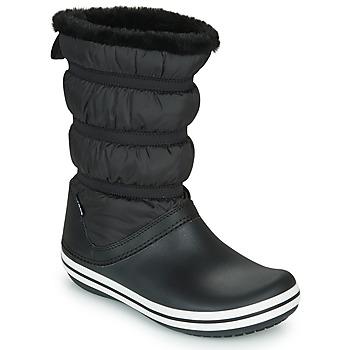 Buty Damskie Śniegowce Crocs CROCBAND BOOT W Czarny