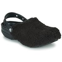 Buty Chodaki Crocs CLASSIC FUZZ MANIA CLOG Czarny