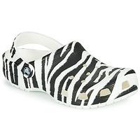 Buty Damskie Chodaki Crocs CLASSIC ANIMAL PRINT CLOG Zebra