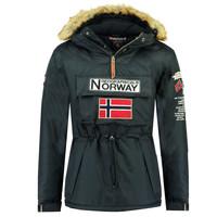 tekstylia Chłopiec Kurtki ocieplane Geographical Norway BARMAN BOY Marine