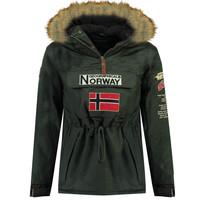 tekstylia Chłopiec Kurtki ocieplane Geographical Norway BARMAN BOY Szary