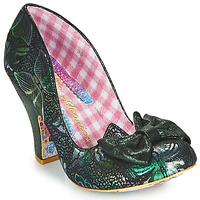 Buty Damskie Czółenka Irregular Choice NICK OF TIME Zielony