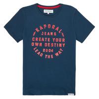 tekstylia Chłopiec T-shirty z krótkim rękawem Kaporal ORVAL Marine