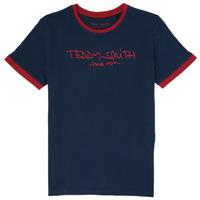 tekstylia Chłopiec T-shirty z krótkim rękawem Teddy Smith TICLASS 3 Marine