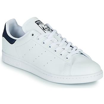 Buty Trampki niskie adidas Originals STAN SMITH VEGAN Biały / Niebieski