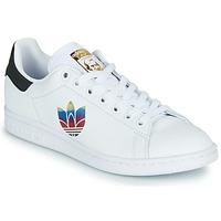 Buty Damskie Trampki niskie adidas Originals STAN SMITH W Biały / Logo
