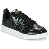 Buty Damskie Trampki niskie adidas Originals SUPERCOURT W Czarny / Vernis