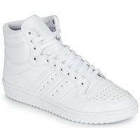 Buty Trampki wysokie adidas Originals TOP TEN Biały