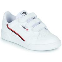 Buty Dziecko Trampki niskie adidas Originals CONTINENTAL 80 CF C Biały