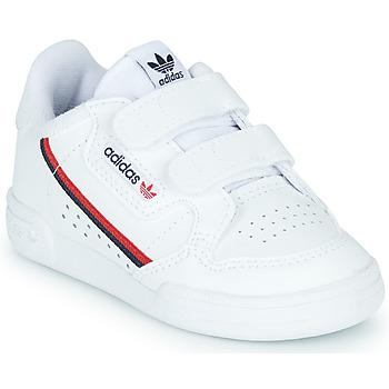 Buty Dziecko Trampki niskie adidas Originals CONTINENTAL 80 CF I Biały