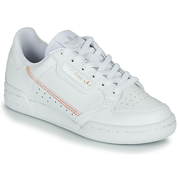 Buty Dziewczynka Trampki niskie adidas Originals CONTINENTAL 80 J Biały / Tęczowy