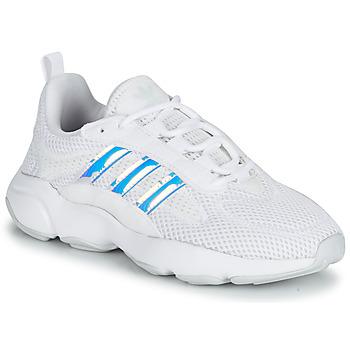 Buty Dziewczynka Trampki niskie adidas Originals HAIWEE J Biały / Tęczowy
