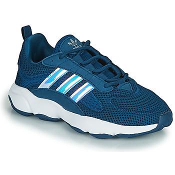 Buty Chłopiec Trampki niskie adidas Originals HAIWEE J Niebieski