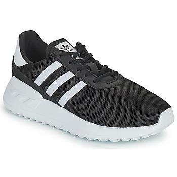 Buty Dziecko Trampki niskie adidas Originals LA TRAINER LITE C Czarny / Biały