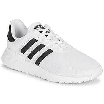 Buty Dziecko Trampki niskie adidas Originals LA TRAINER LITE J Biały / Czarny