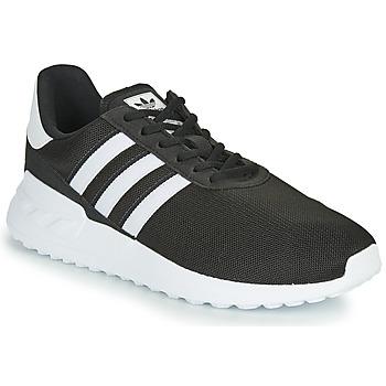 Buty Dziecko Trampki niskie adidas Originals LA TRAINER LITE J Czarny / Biały
