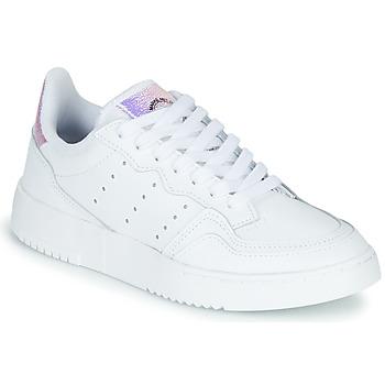 Buty Dziecko Trampki niskie adidas Originals SUPERCOURT J Biały