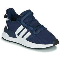 Buty Chłopiec Trampki niskie adidas Originals U_PATH RUN J Marine / Biały