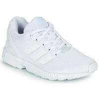 Buty Dziecko Trampki niskie adidas Originals ZX FLUX C Biały