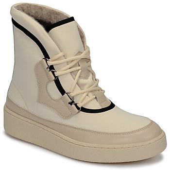 Buty Damskie Śniegowce Aigle SKILON HIGH Biały